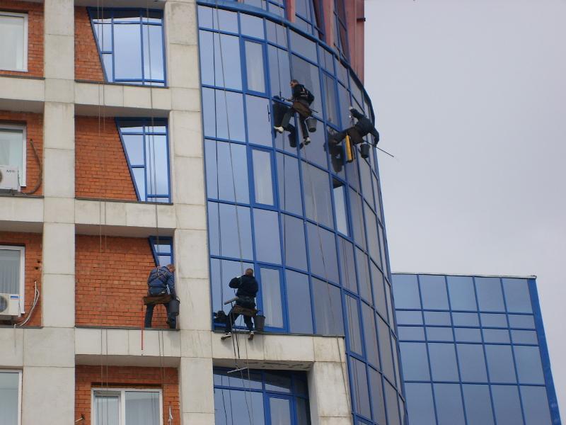 Промышленные альпинисты в москве недорого