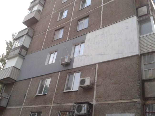 Ремонт фасада по текущему ремонту